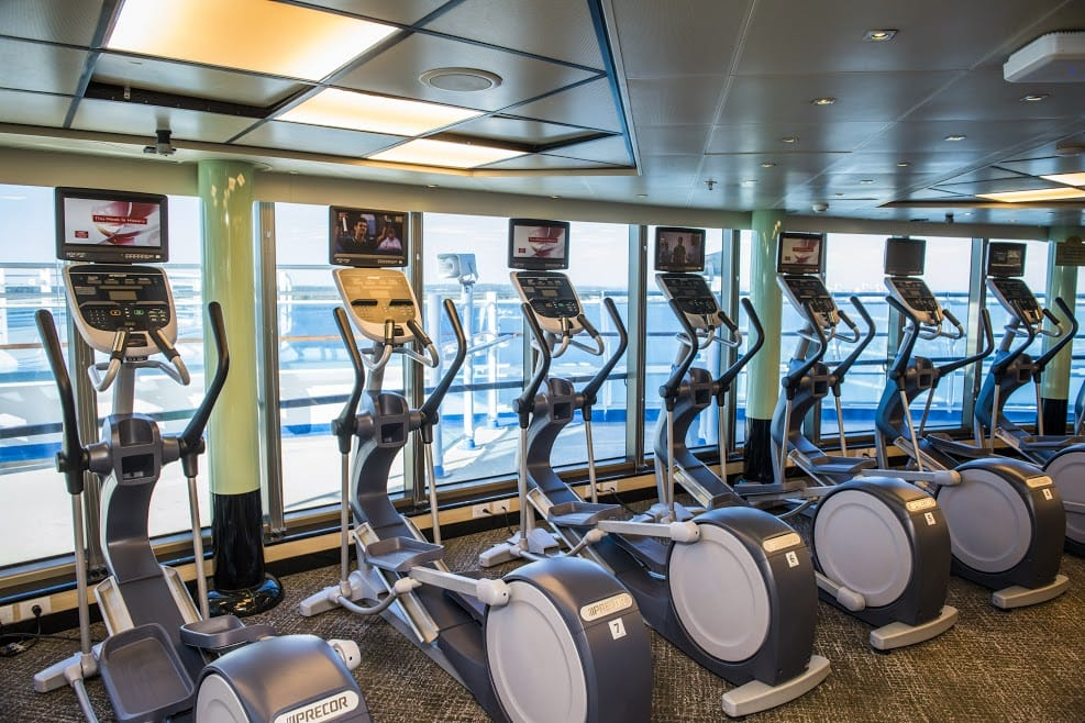 Sapphire Princess Gym Princess Cruises Ship Shape Program