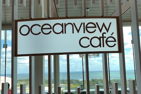 Oceanview Cafe aboard the Celebrity Edge