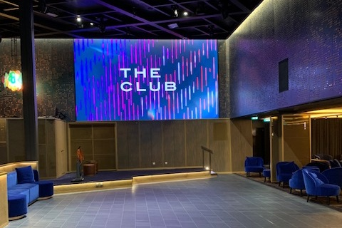 The Club on board Celebrity Edge
