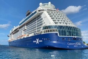 Celebrity Edge on the water