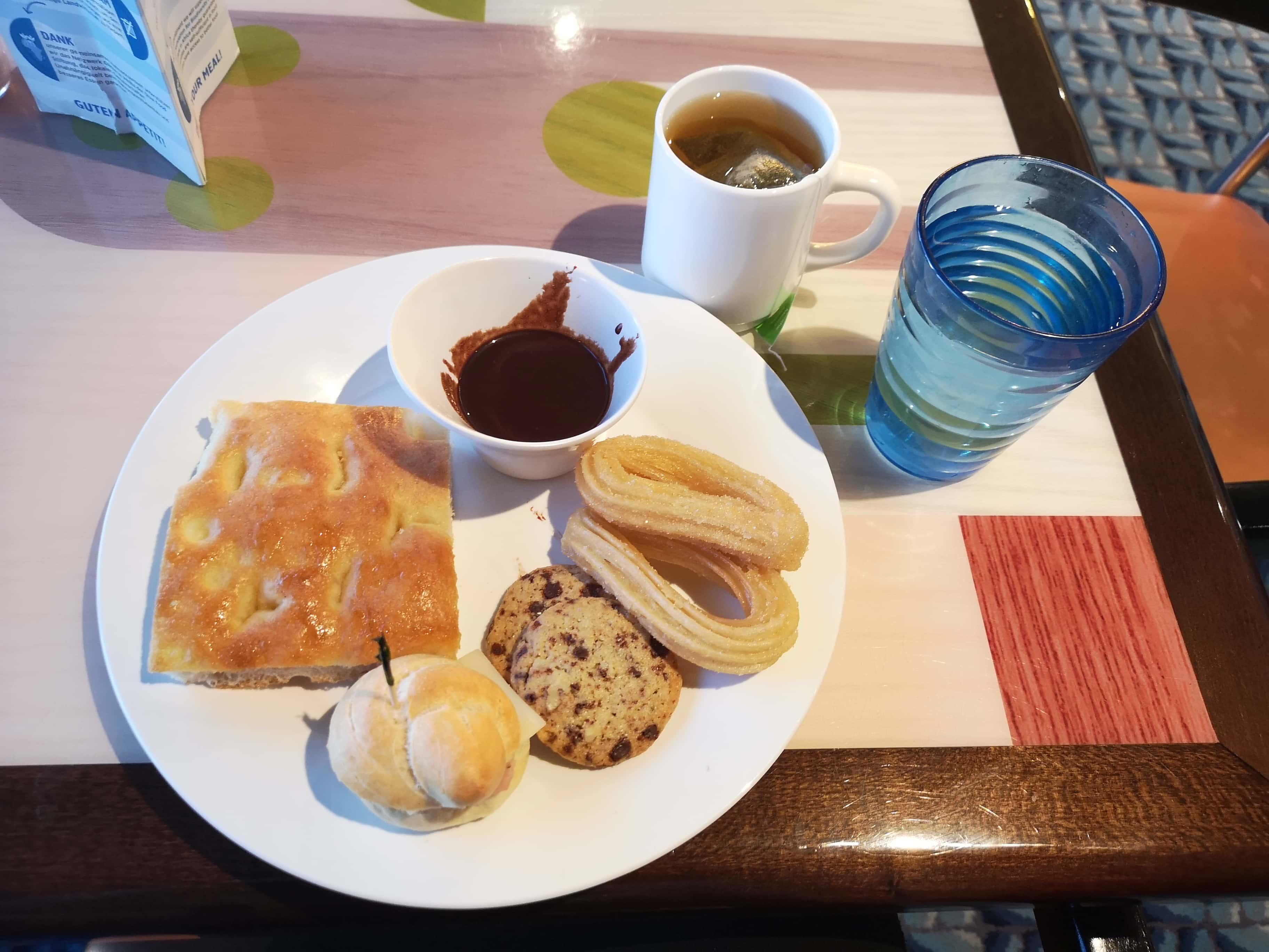 Costa Cruises Buffet Food Luminosa
