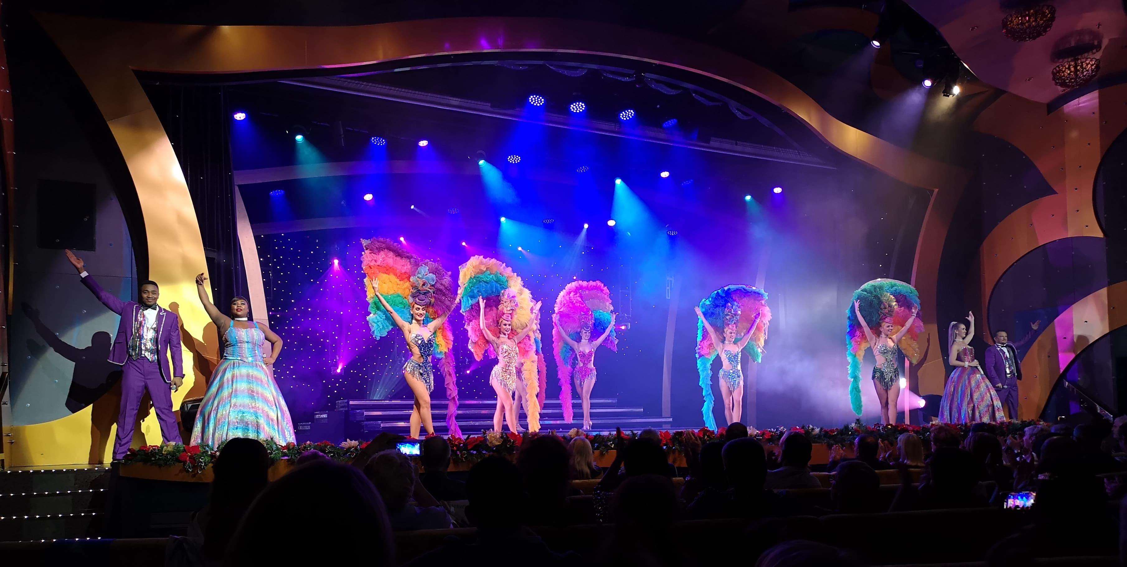 Costa Cruises Entertainment Carnival Show