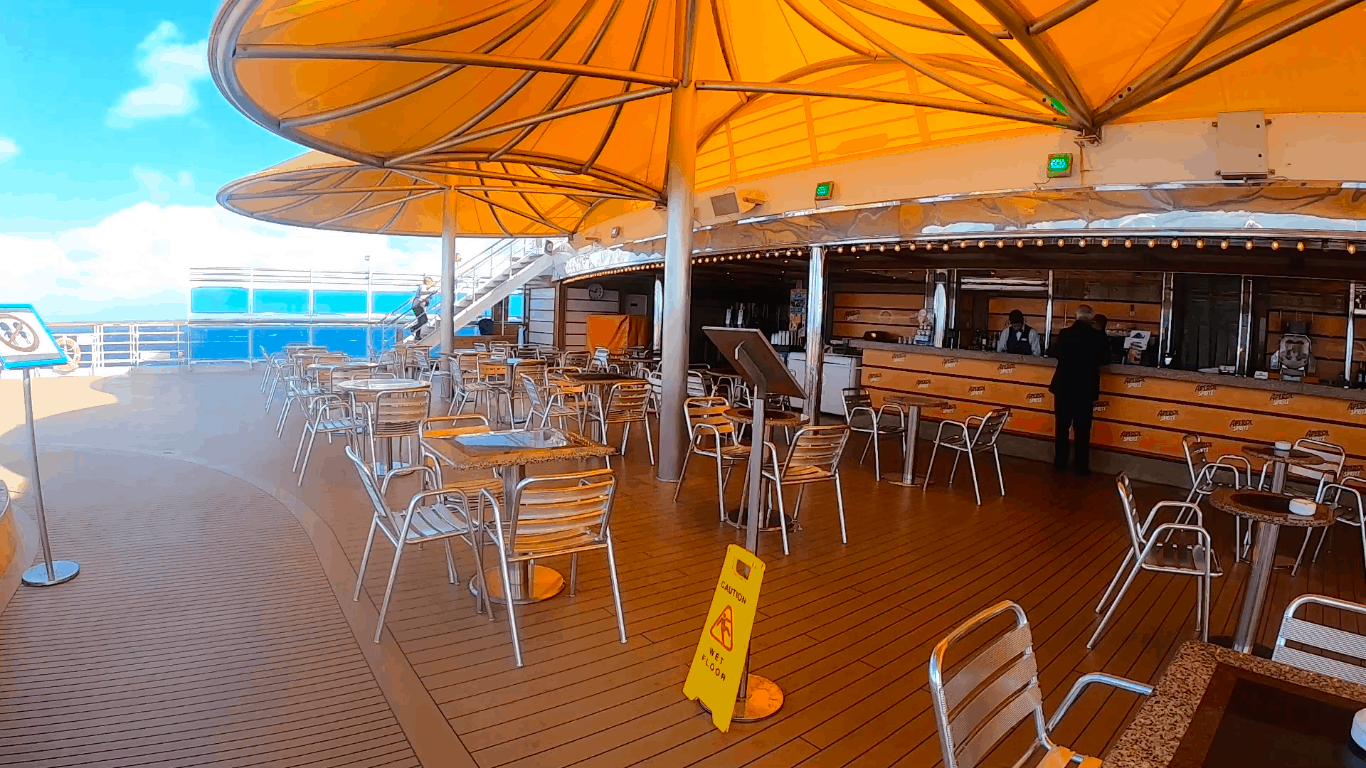 Costa Cruises Bar Luminosa Outside Deck