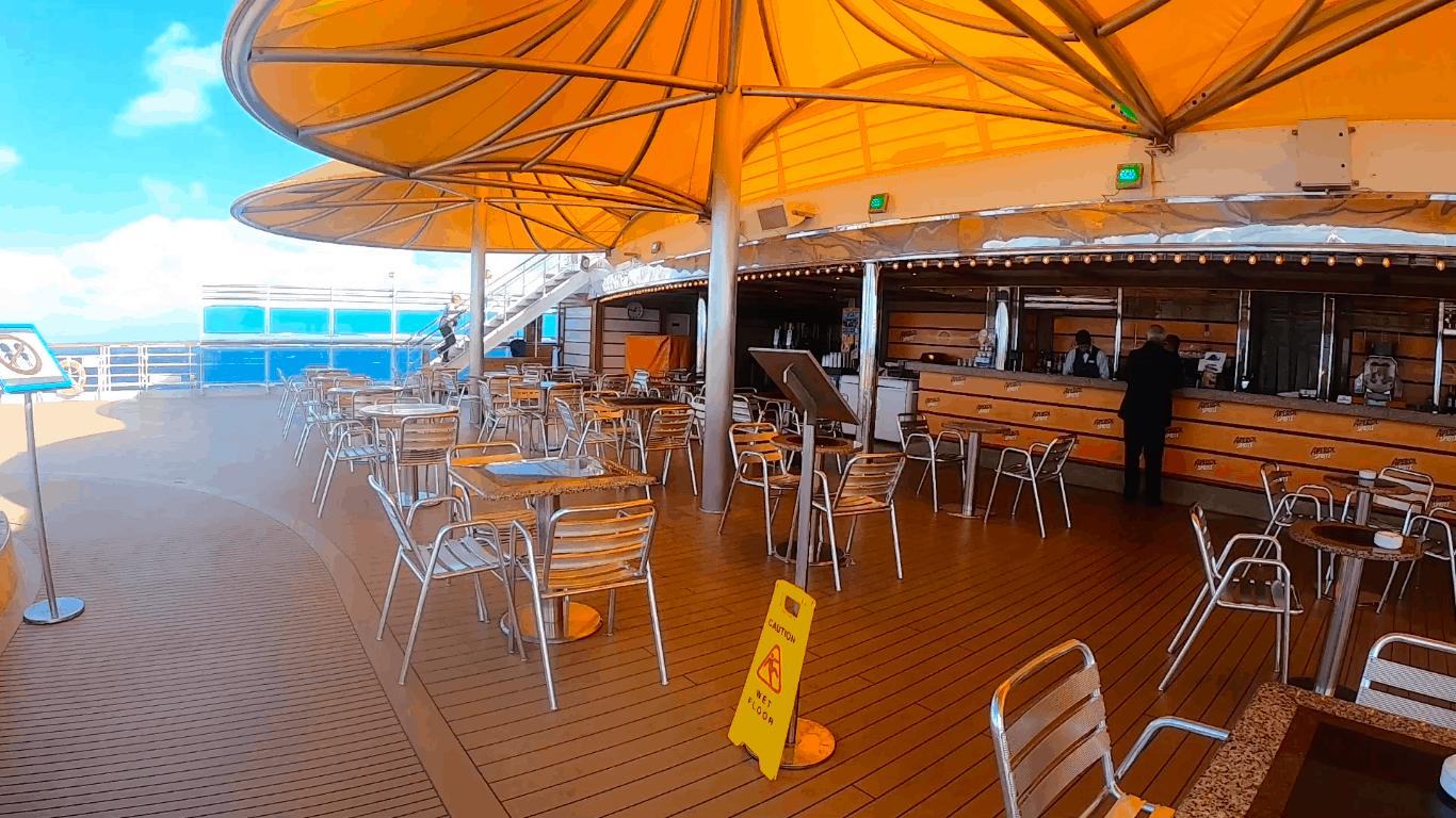 Costa Cruises Bar Luminosa Outside Deck