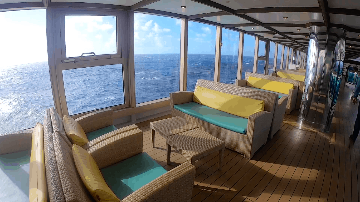 Costa Cruises Luminosa Seating by Pool