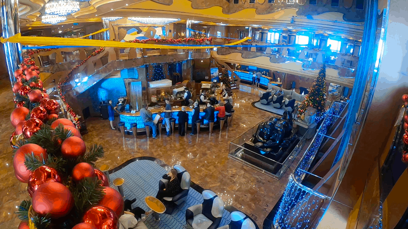 Costa Cruises Luminosa Atrium
