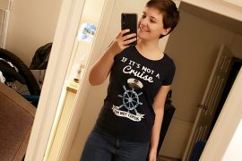 Funny Cruise Tshirts Emma Cruises photo in mirror