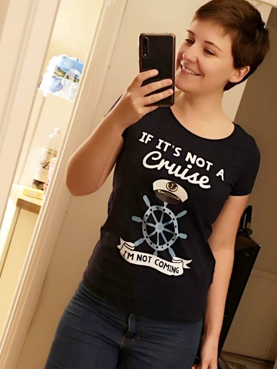 Funny Cruise Tshirts Emma Cruises photo in mirror