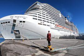 MSC Meraviglia Toulon Mediterranean Cruise