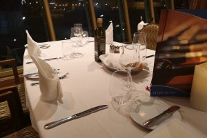 Costa Cruises Main Dining Room Table