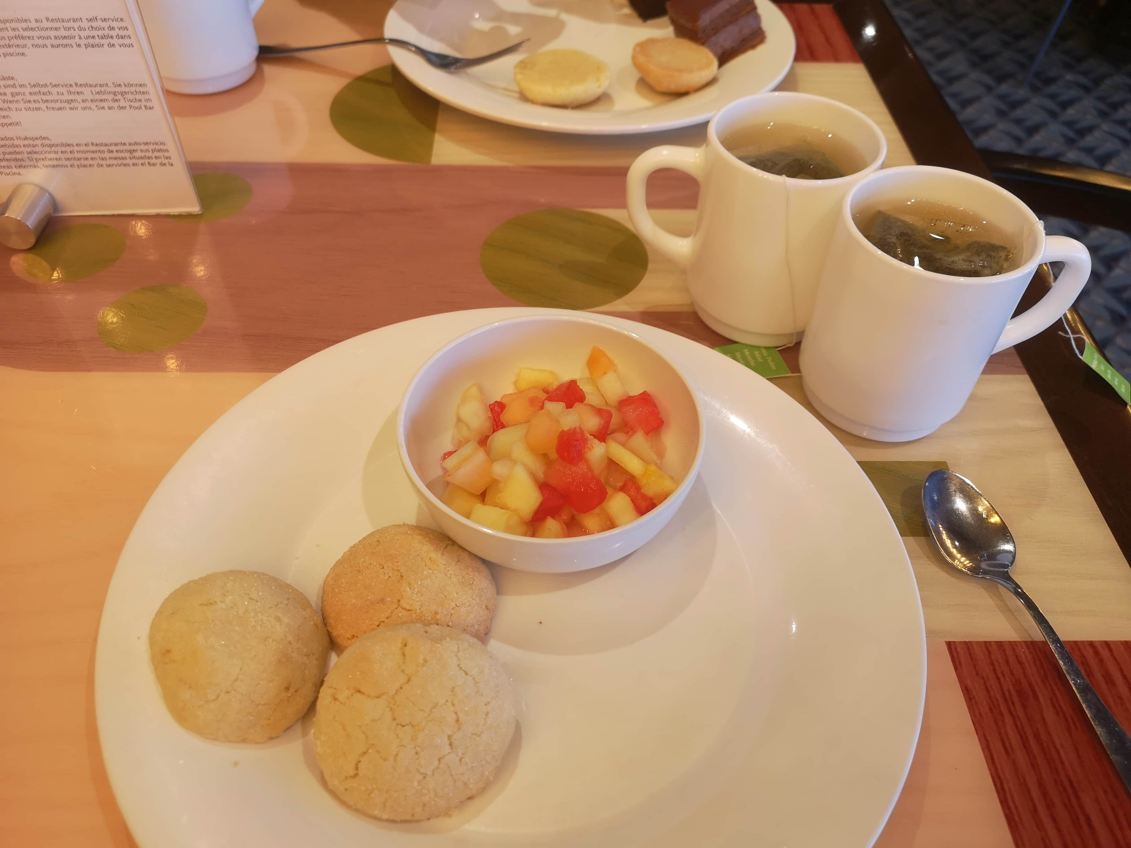 Costa Cruises Tea Buffet