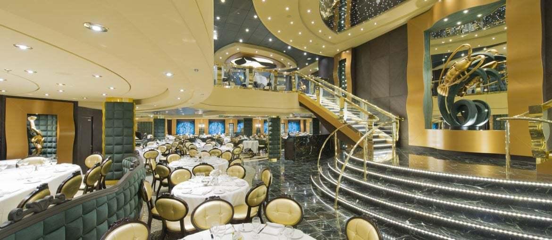 Dining room on board MSC Preziosa
