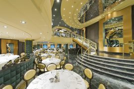 Dining room on board MSC Preziosa