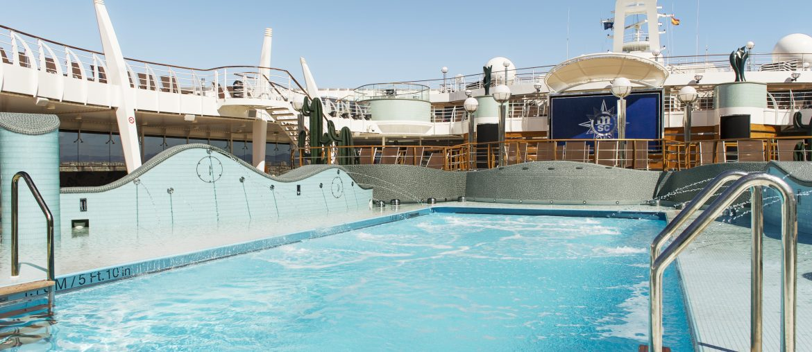 Deck pool on MSC Preziosa