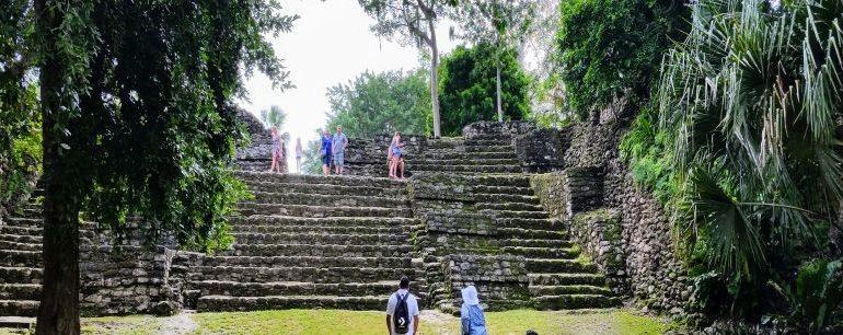 Ruins near Costa Maya