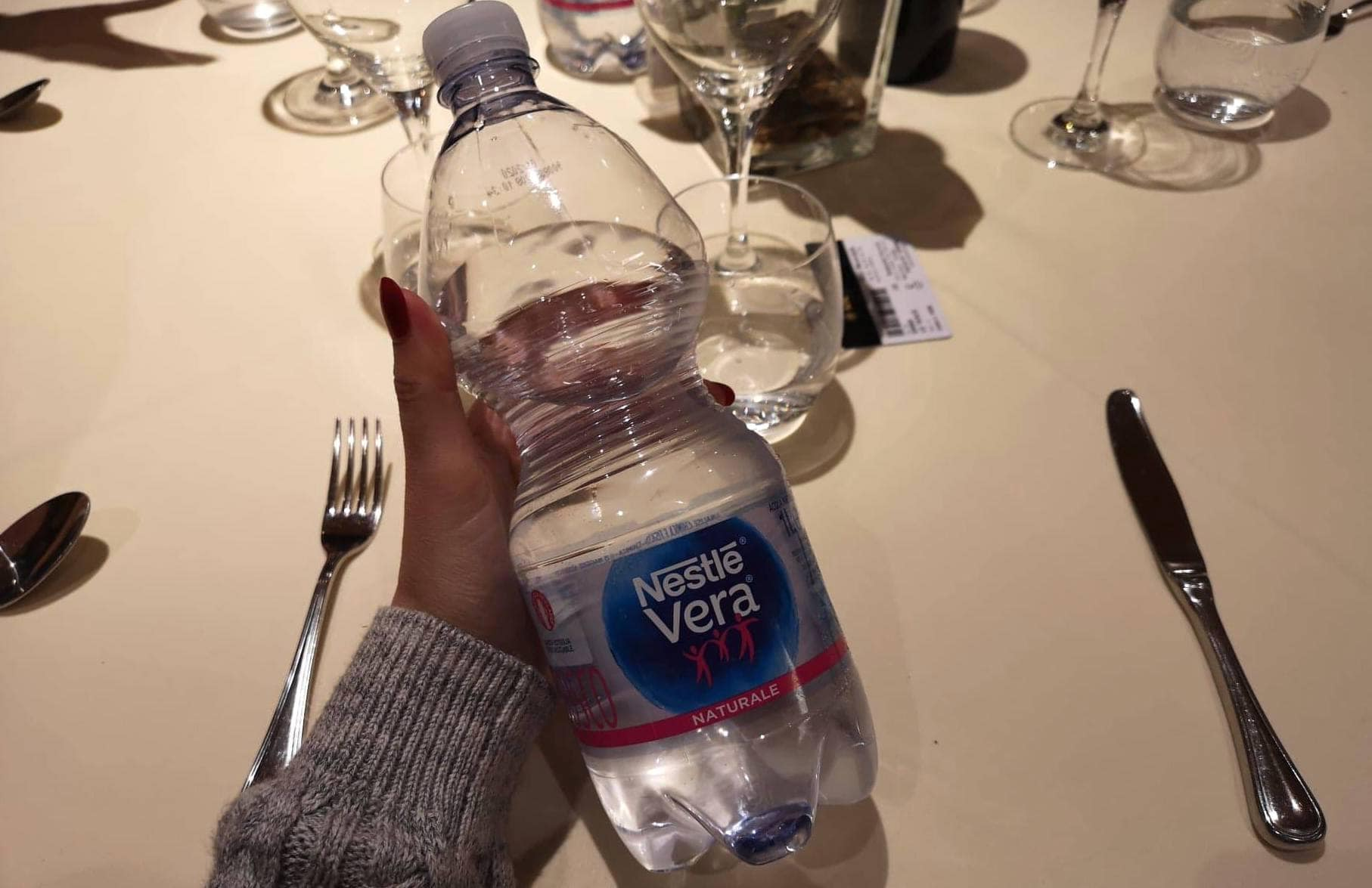 msc meraviglia water free main meals