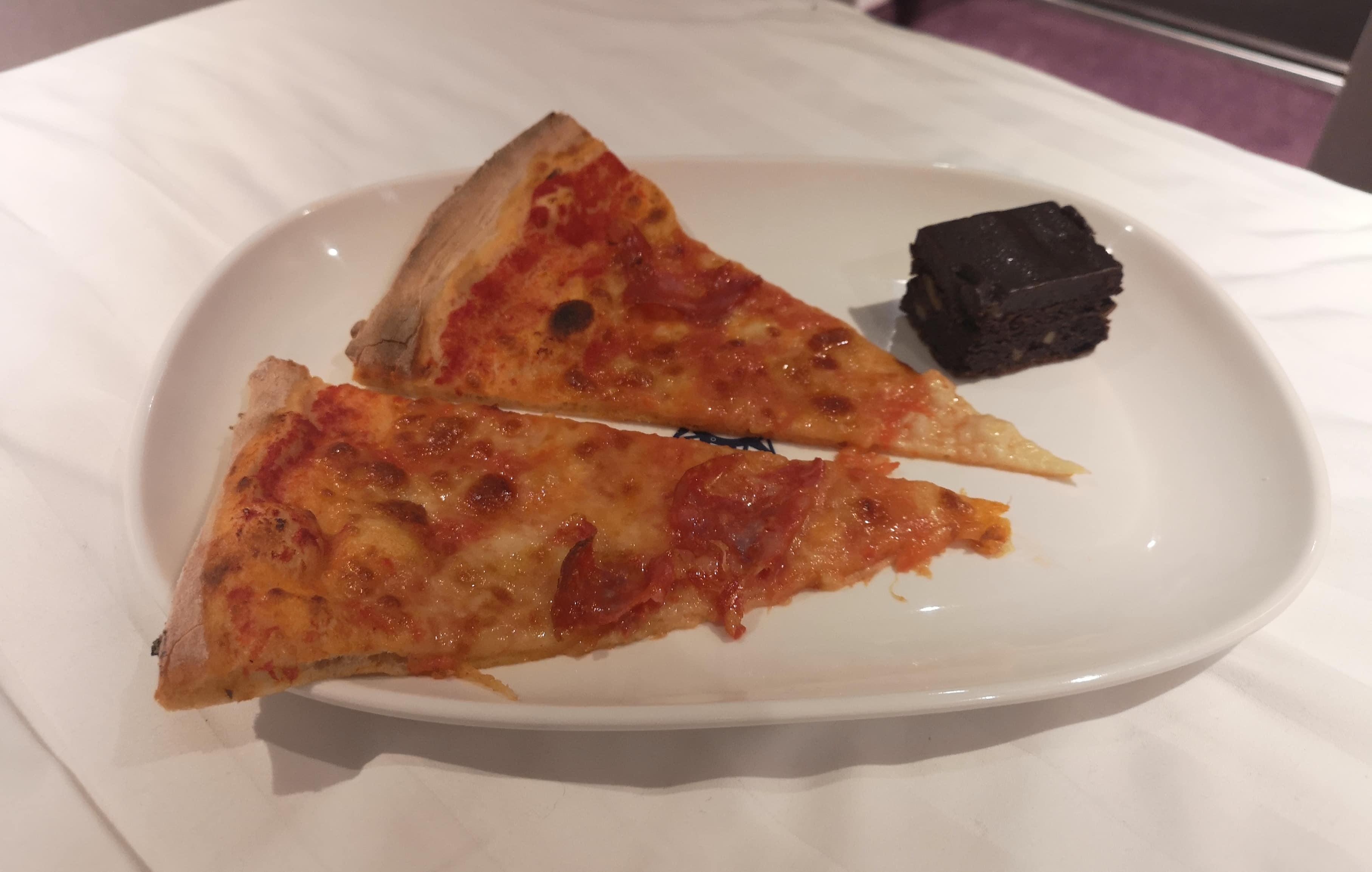 msc cruises pizza