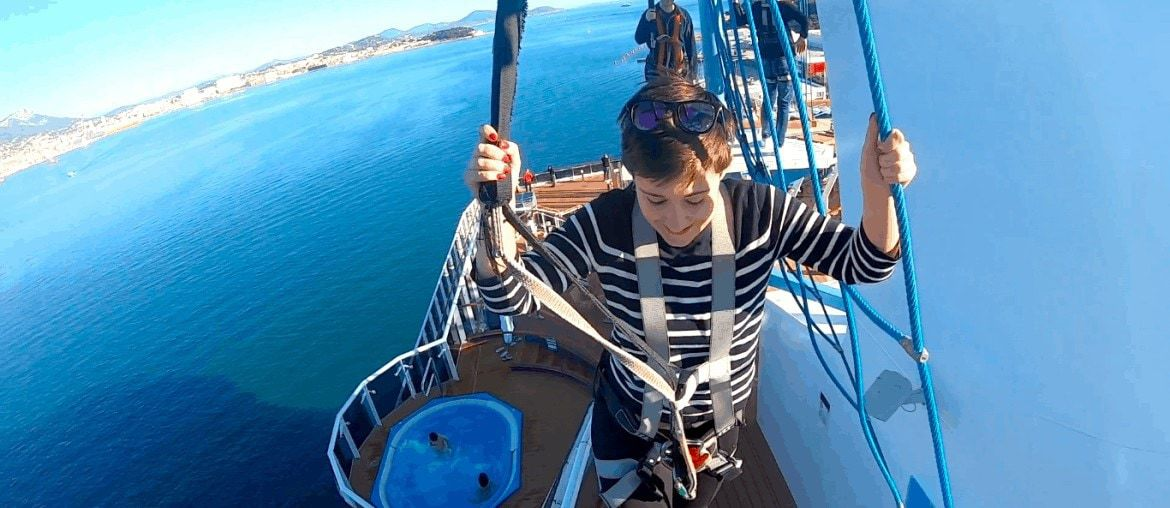msc meraviglia ropes course and waterslides