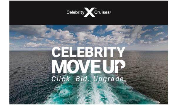 Celebrity Cruises Move Up Upgrade Program