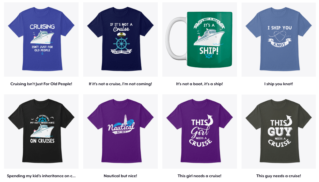 Cruise Tshirts Emma Cruises Discount Code