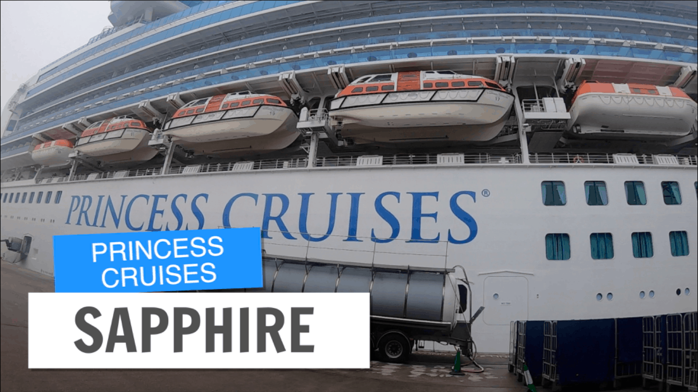 Sapphire Princess Tour Post Refurbishment