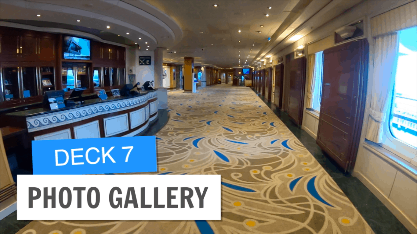 Sapphire Princess Photo Gallery Deck 7 Post Refurbishment