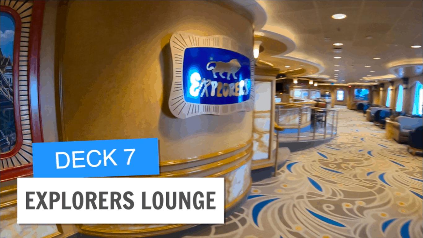 Sapphire Princess Explorers Lounge Post Refurbishment