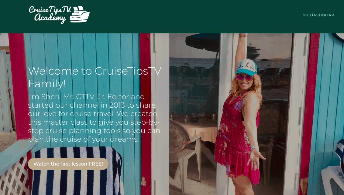 Cruise Tips Tv Masterclass Discount Code