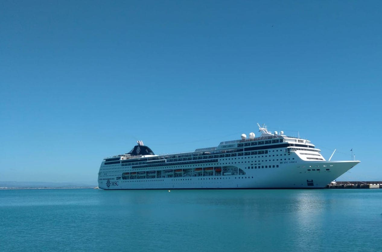 MSC Lirica Cruise Review Ship