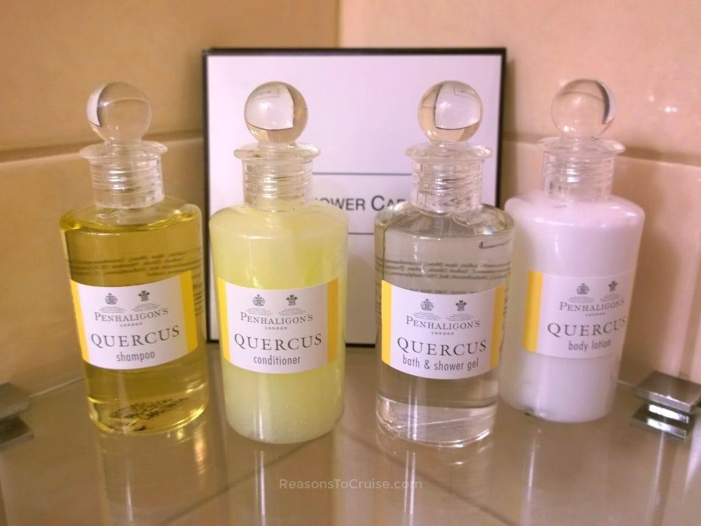 Cunard Toiletries Shampoo Conditioner Body Lotion
