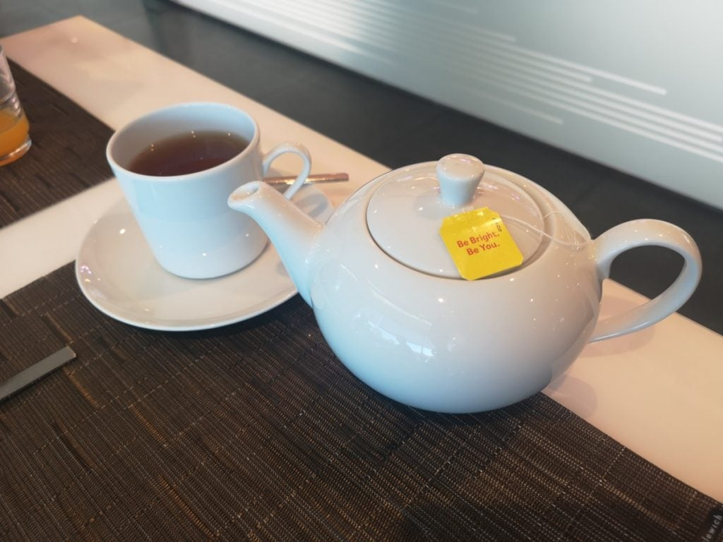 Emerald Waterways Tea Pot Breakfast