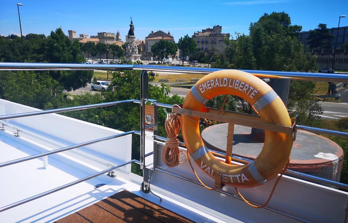Emerald Waterways Liberte Life Ring