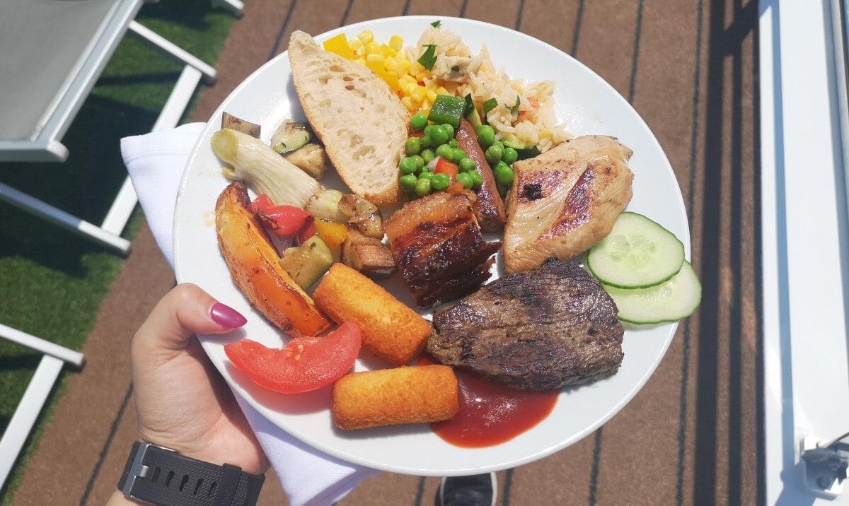 Emerald Waterways Barbecue BBQ Top Deck