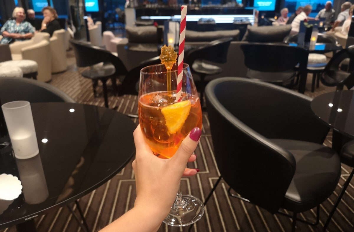 Emerald Waterways Drinks Package Aperol Spritz