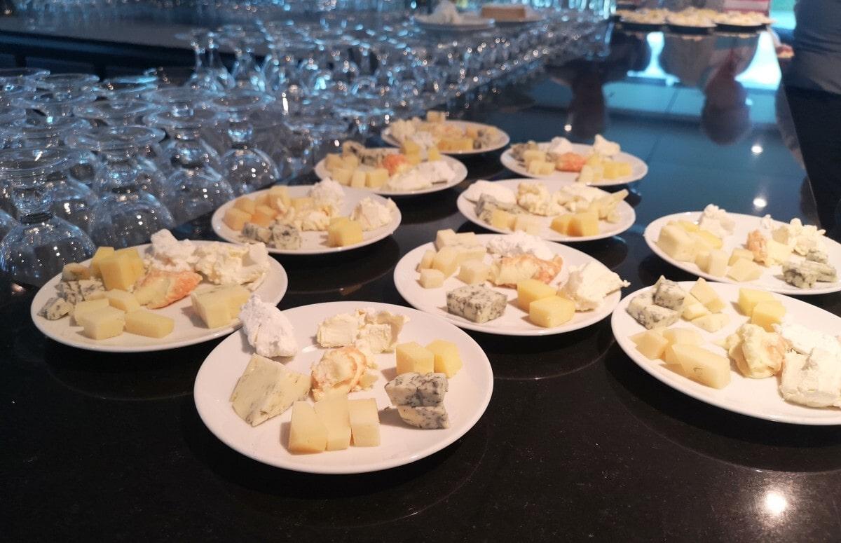 Emerald Waterways Cheese Tasting