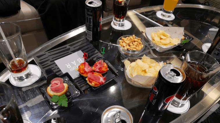 MSC Meraviglia Food Sky Lounge Tapas