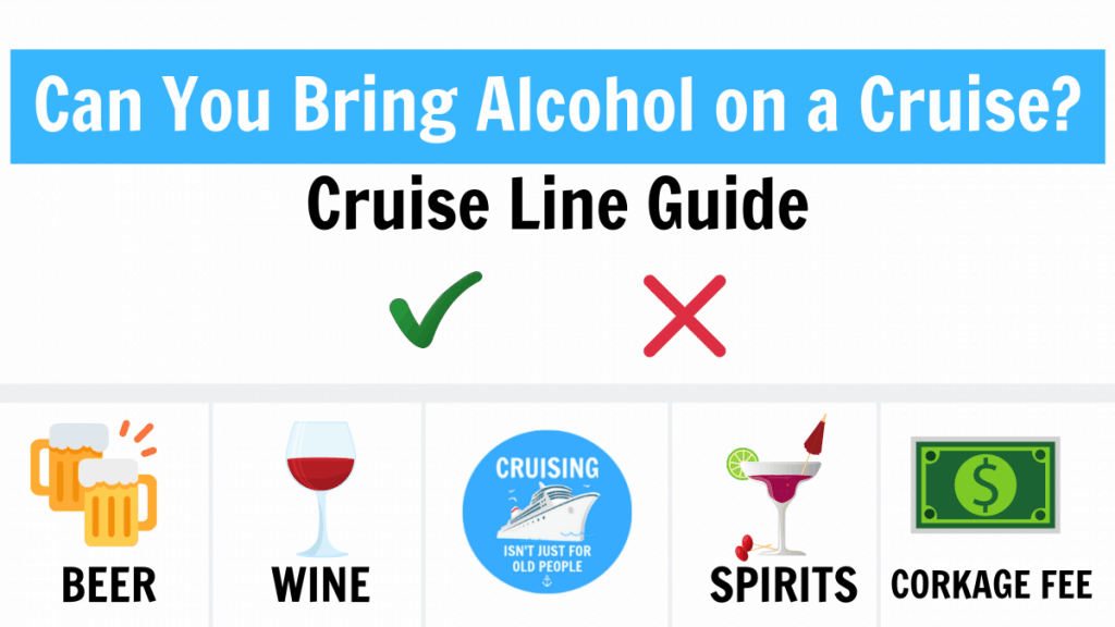 Can You Bring Alcohol On A Cruise