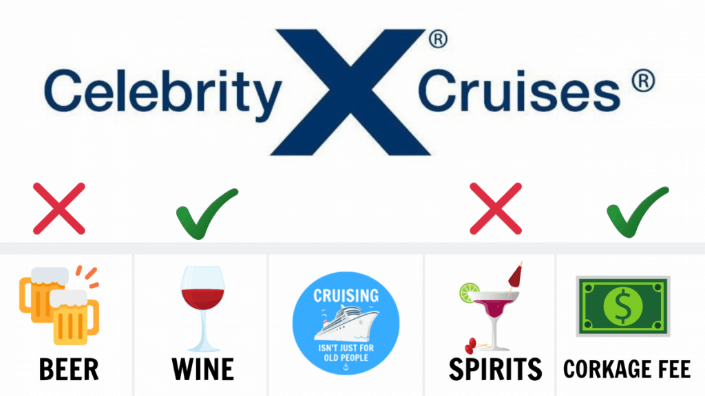 Can You Bring Alcohol On A Celebrity Cruise Beer Wine Spirits