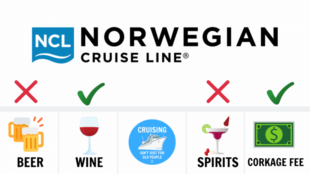 Can You Bring Alcohol On A Norwegian Cruise Line NCL Cruise