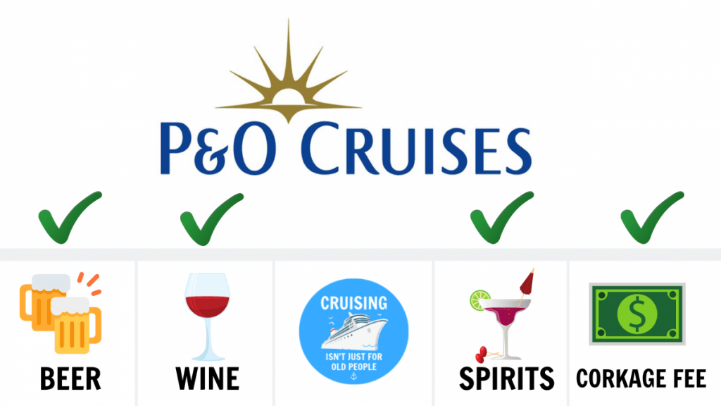 Can You Bring Alcohol On A P&O Cruise