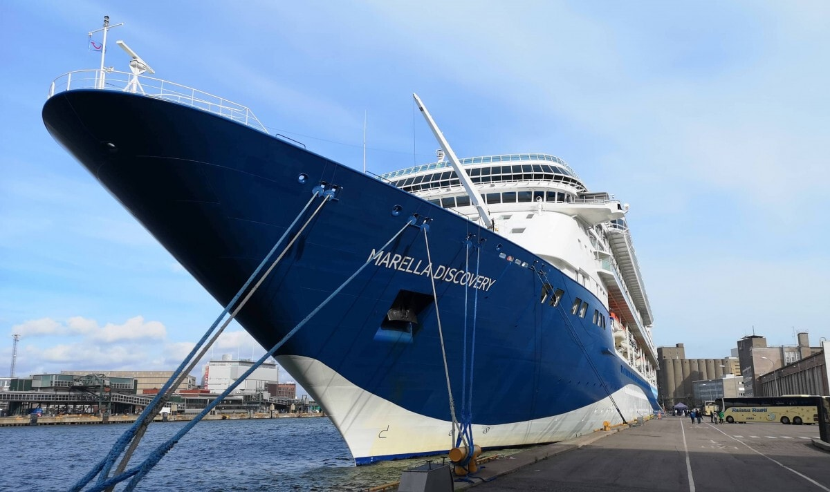 Embarking The Marella Discovery