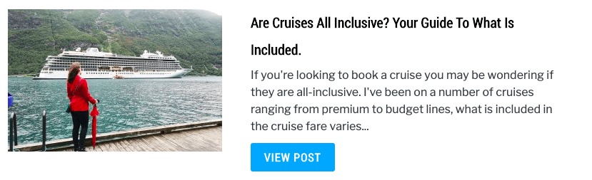 Are Cruises All Inclusive? Your Guide To What Is Included