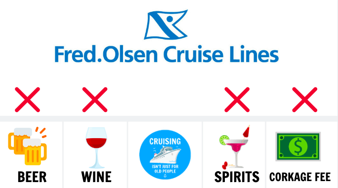 Can You Take Alcohol On a Fred Olsen Cruise? Wine Beer Spirits