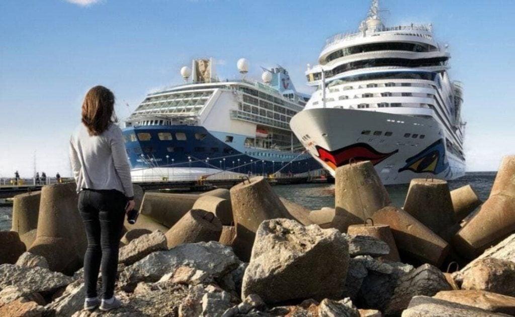 Marella Aida Cruise Ships in Tallinn