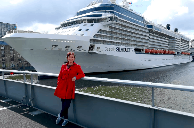 Celebrity Silhouette in Amsterdam