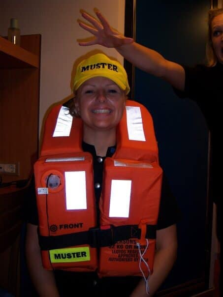 Muster Drill Crew Life Jacket