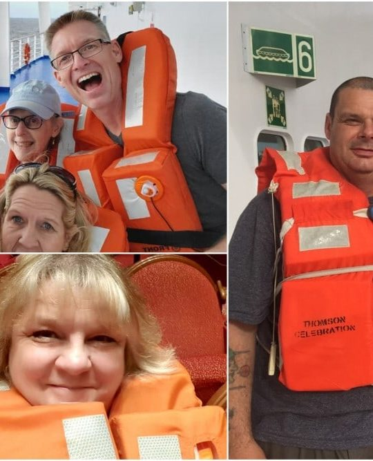 Life Jacket Selfies What Is a Muster Drill?