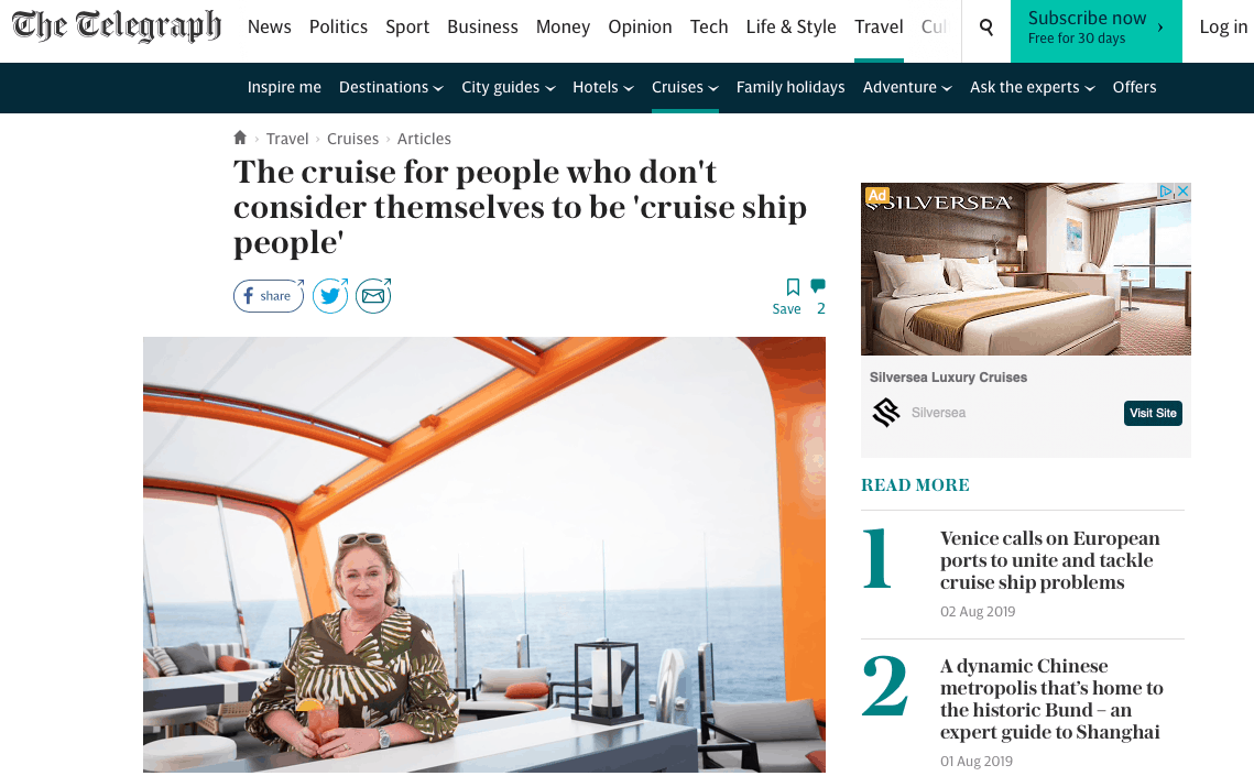 Telegraph Cruising Isn't Just For Old People