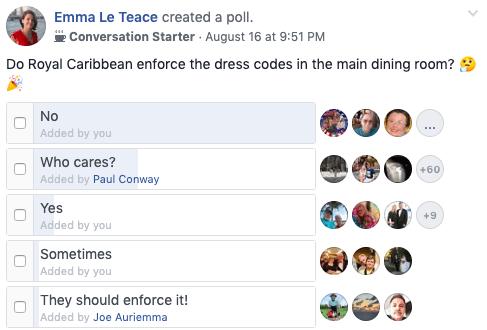 Do Royal Caribbean Enforce The Dress Code Survey