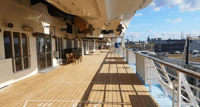 Marella Explorer Promenade Deck